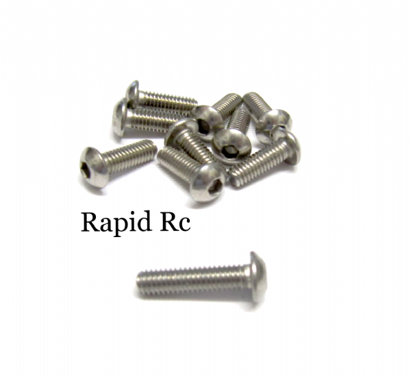 stainless Steel socket Button head Bolt A2 M4x16mm